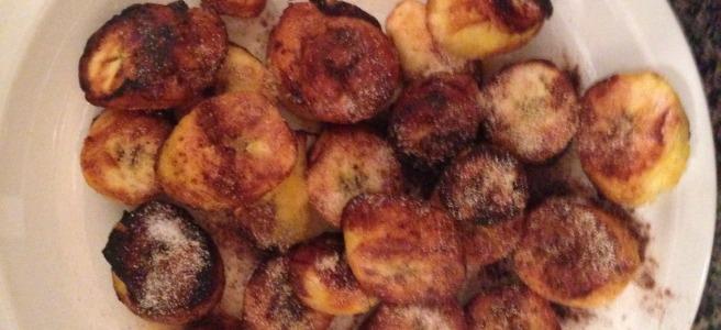 fried seasoned plantains