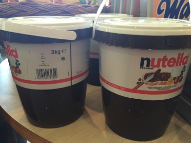 3kg bucket of Nutella
