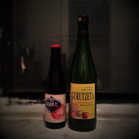Ciders on my windowsill