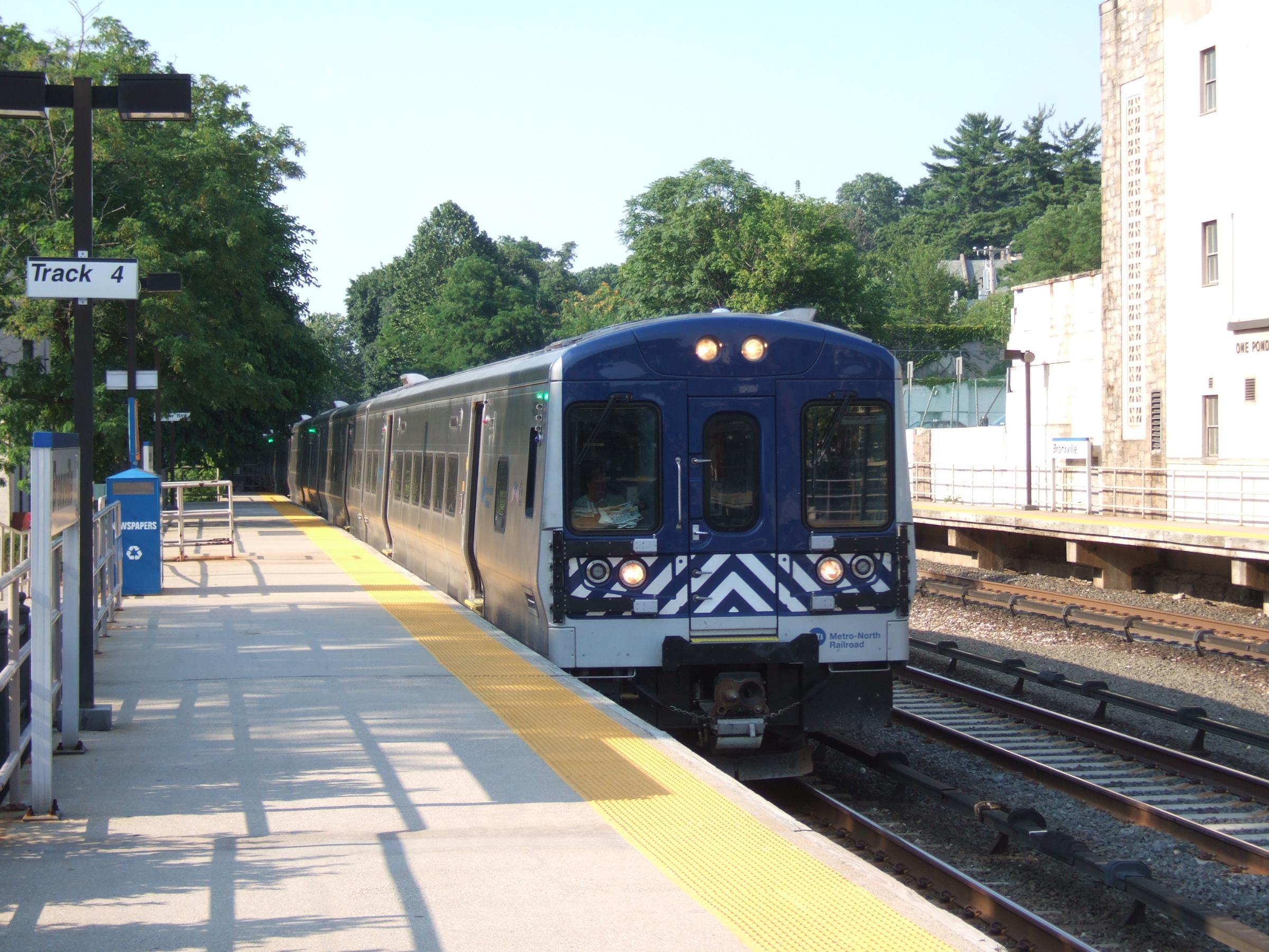 Metro North train