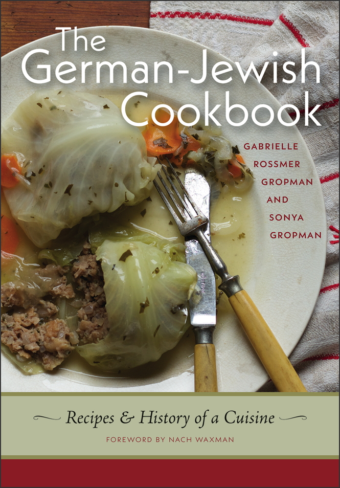 The cover for the German-Jewish Cookbook