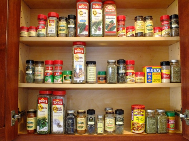cabinet of spices
